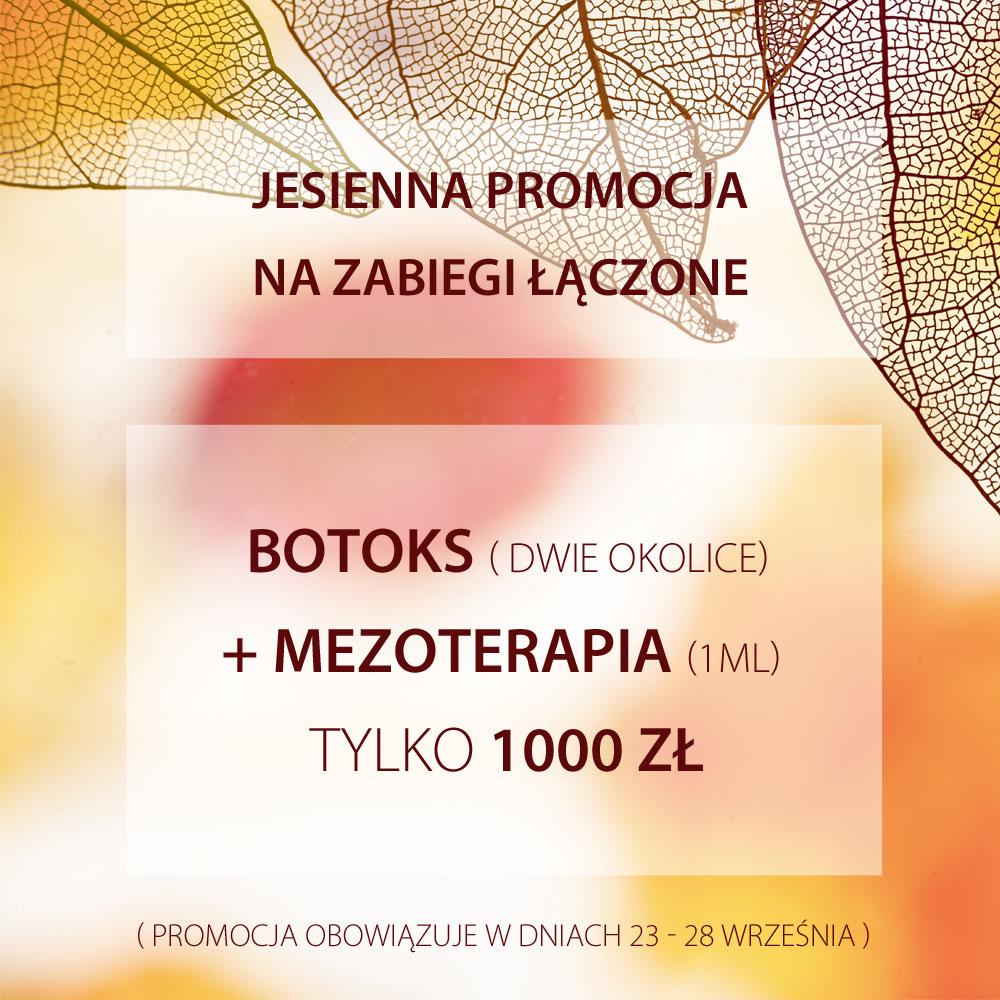 promocja na botoks i mezoterapię Szczecin